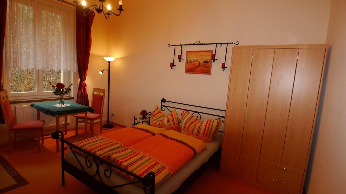Wohn- / Schlafzimmer Ferienwohnung 3 Villa Liliengrund Eisenach